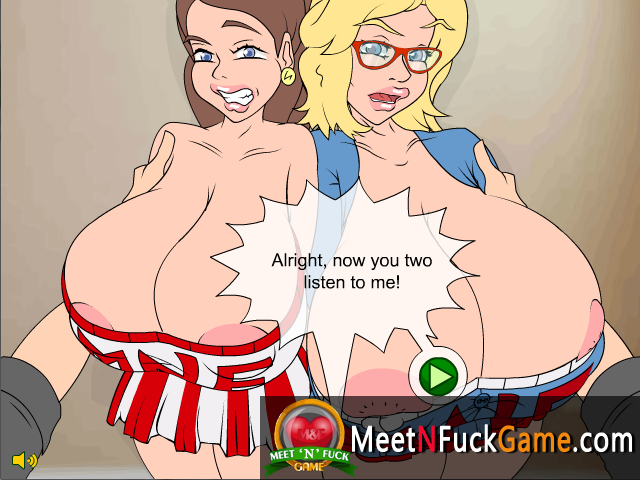 Busty Family Cheer Squad sex game screenshot 2