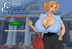 Cassie Cannons: MILF Journalist