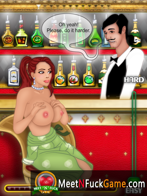 Cocktail Bar topless beauty seduced