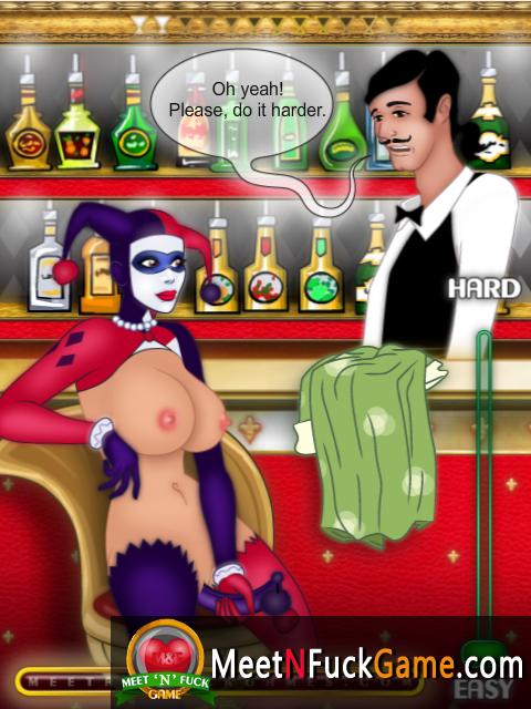 Cocktail Bar girl fucks herself with huge dildo
