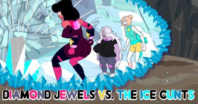 Diamond Jewels vs. The Ice Cunts free porn game