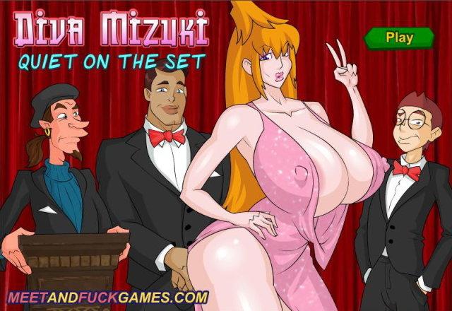 Diva Mizuki: Quiet On The Set free porn game