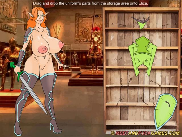 Elica Honkers : The Adventures Quest online sex game