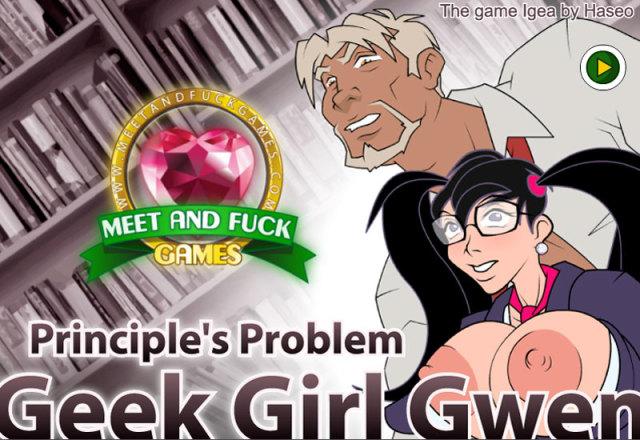 Geek Girl Gwen: Principles Problem