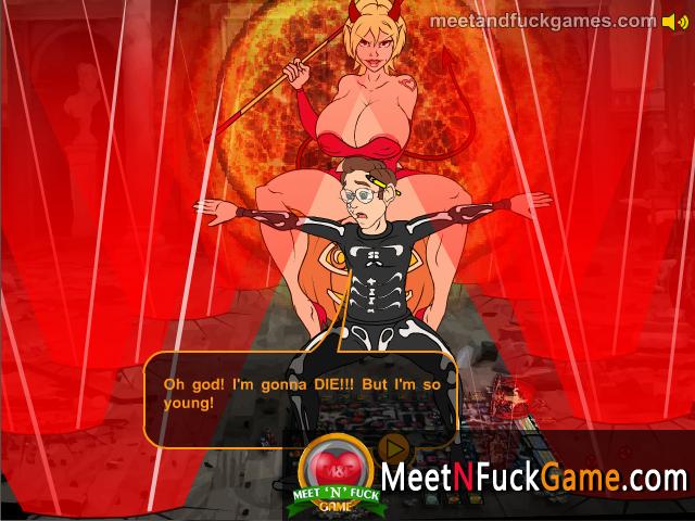 Halloween Adventure sex game screenshot 2
