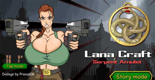 Lana Craft and the Serpent Amulet free porn game