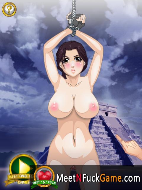 Lara Kroft - Cock Rider sex game screenshot 3
