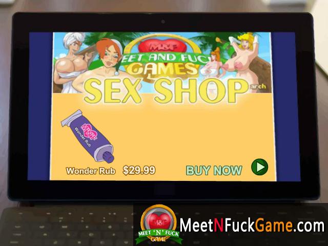 M&F's Wonder Rub sex game screenshot 1