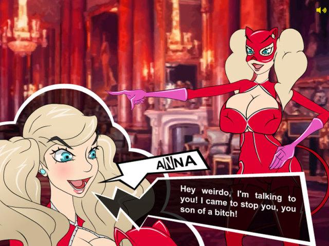 Pervsona 5 online sex game