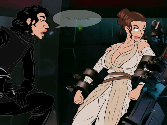Star Moans: The Lust Awakens online sex game