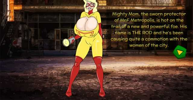 Super Heroine Hijinks 4: The Fall of Mighty Mom online sex game