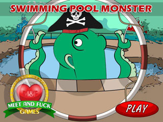 Swimming Pool Monster