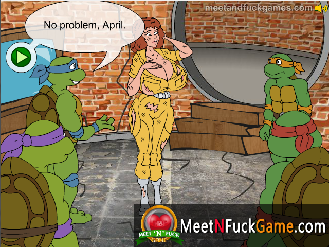 Teenage Mutant Fucking Turtles sex game screenshot 1