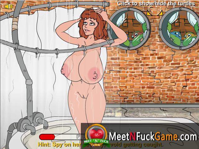 Teenage Mutant Fucking Turtles sex game screenshot 2
