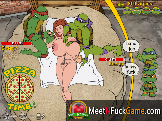 Teenage Mutant Fucking Turtles sex game screenshot 3