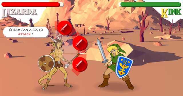 The Legend of Xelda: Trifuck of Pleasure online sex game