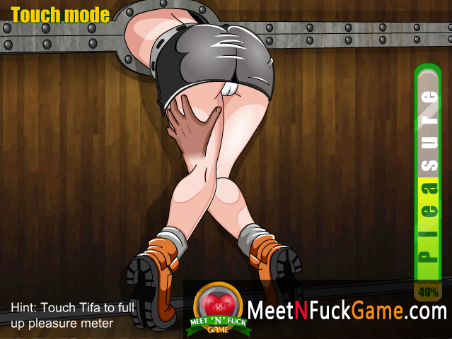 Tifa Dungeon Fuck naked in chains