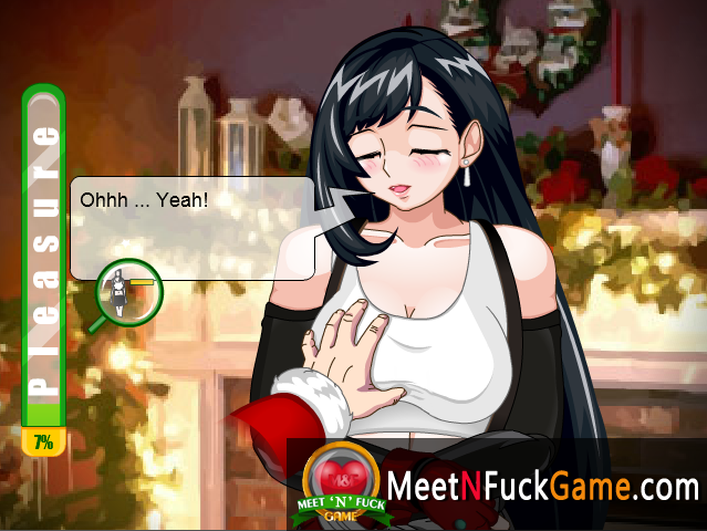 Tifa's Horny Xmas BDSM affection