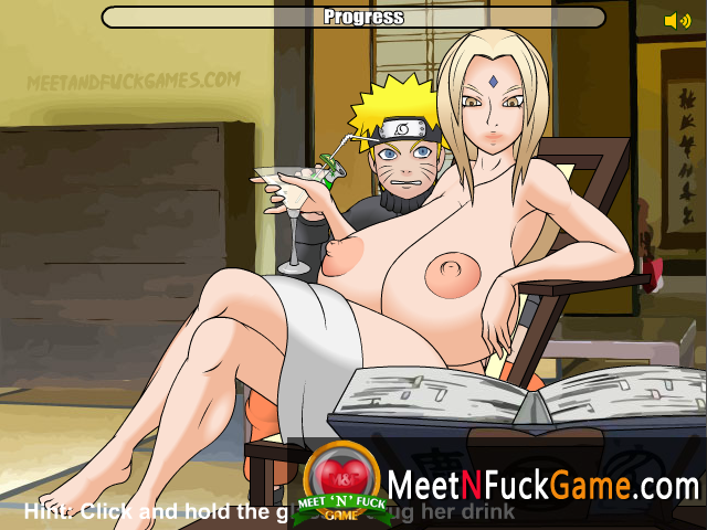 Tsunade Stalker Hot sex and affection in the bathroom