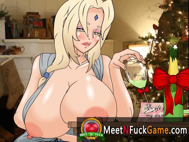 Tsunade Xmas Sale porn sex game about Christmas