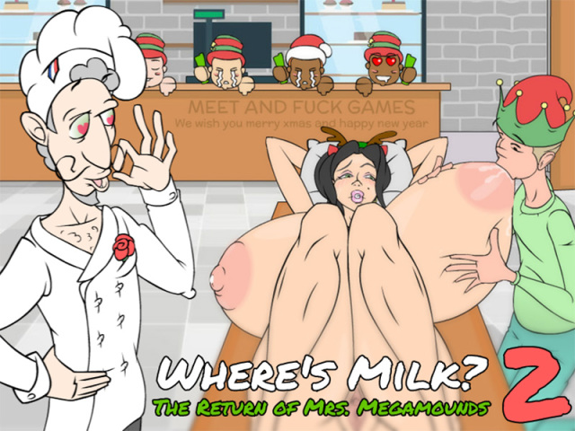 Where the Milk? : II - The Return of Mrs. Megamounds